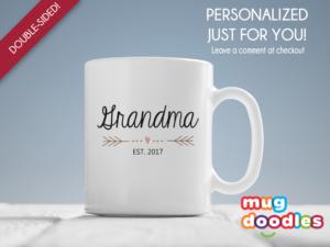 Grandma - Est. 2017 Mug